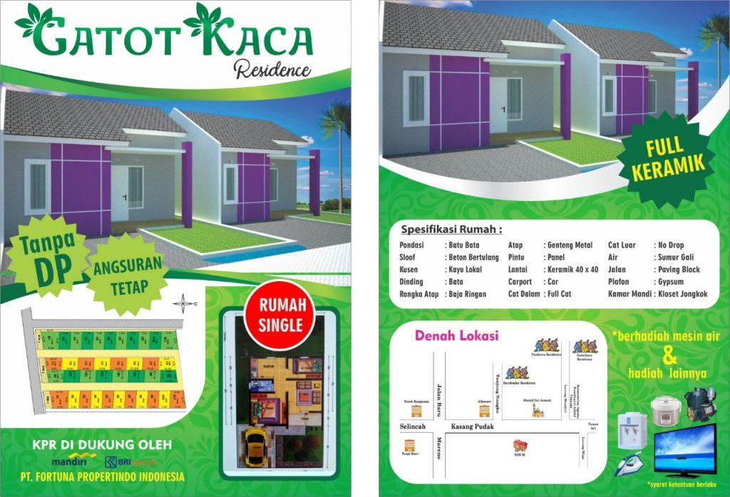 Brosur Gatotkaca Residence Jambi