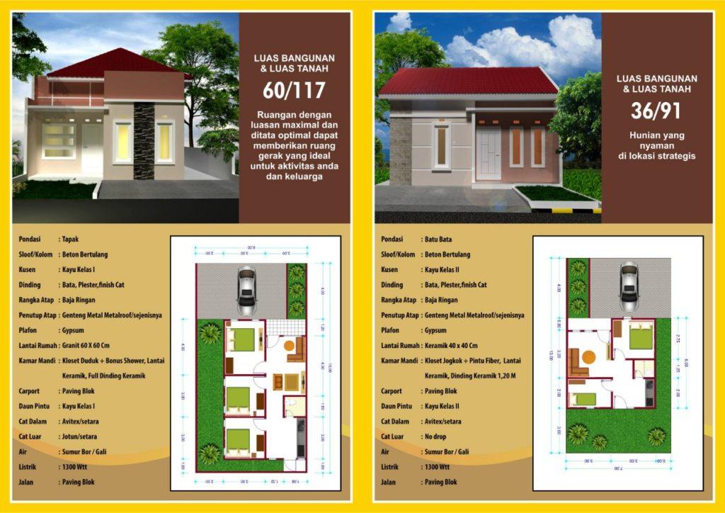 Brosur Belakang Borobudur 2 Residence