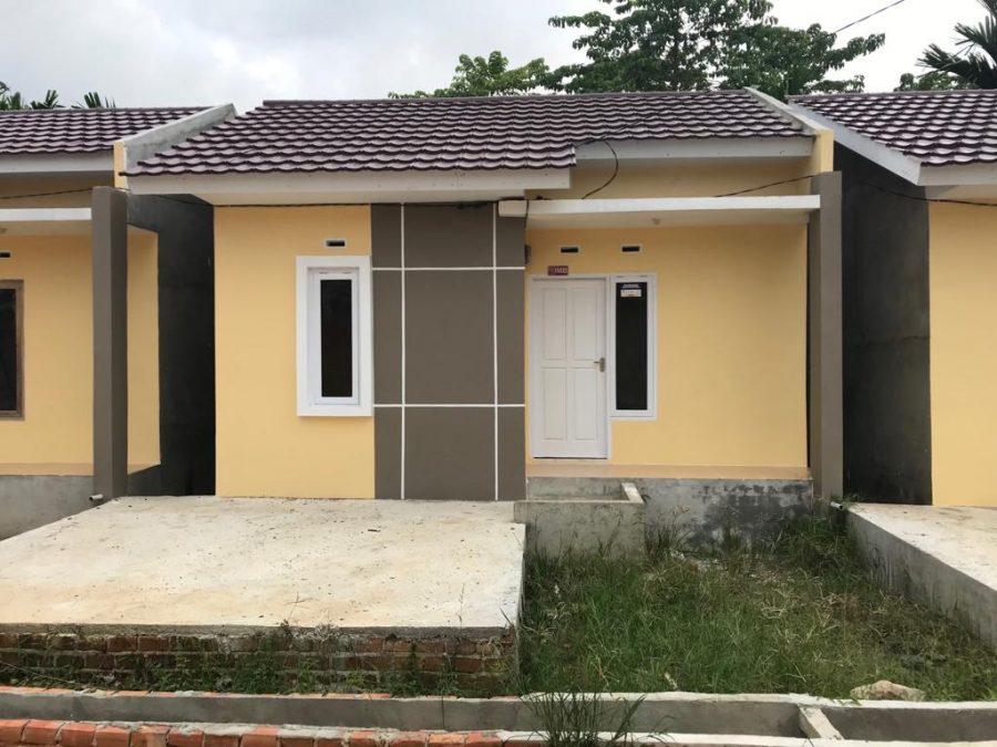 Contoh Rumah Gatotkaca Residence Jambi
