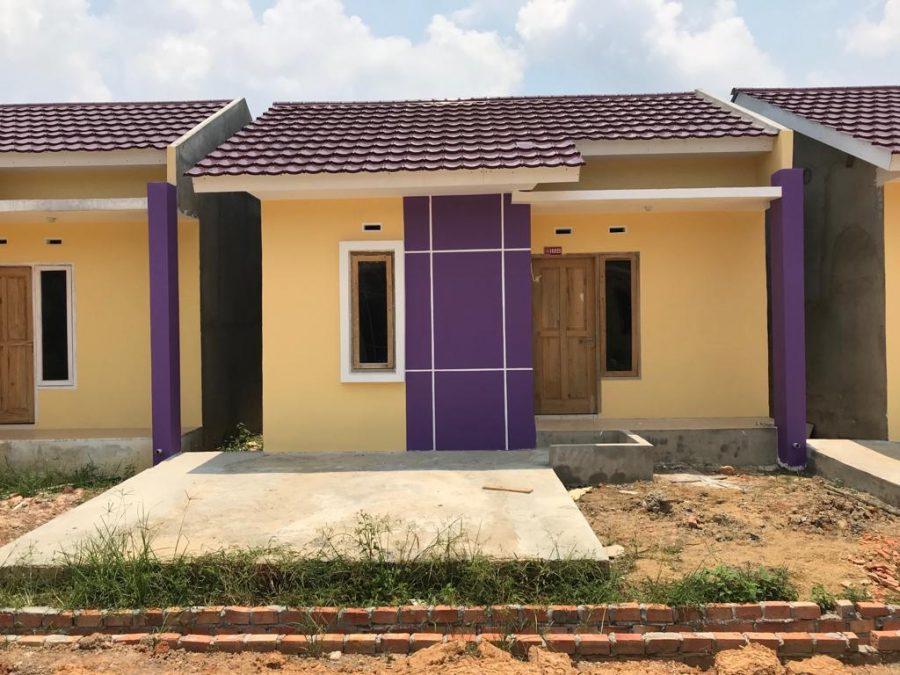 Contoh Rumah Sekapur Sirih 2 Residence Jambi