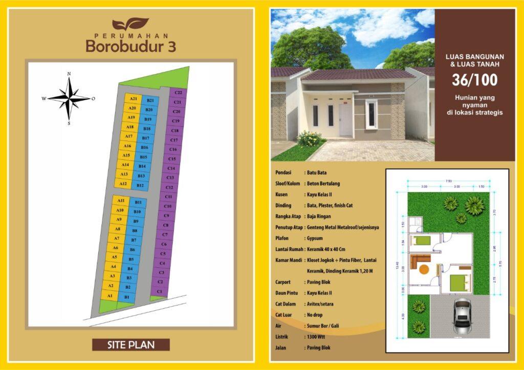 Brosurr Borobudur 3 Residence Jambi