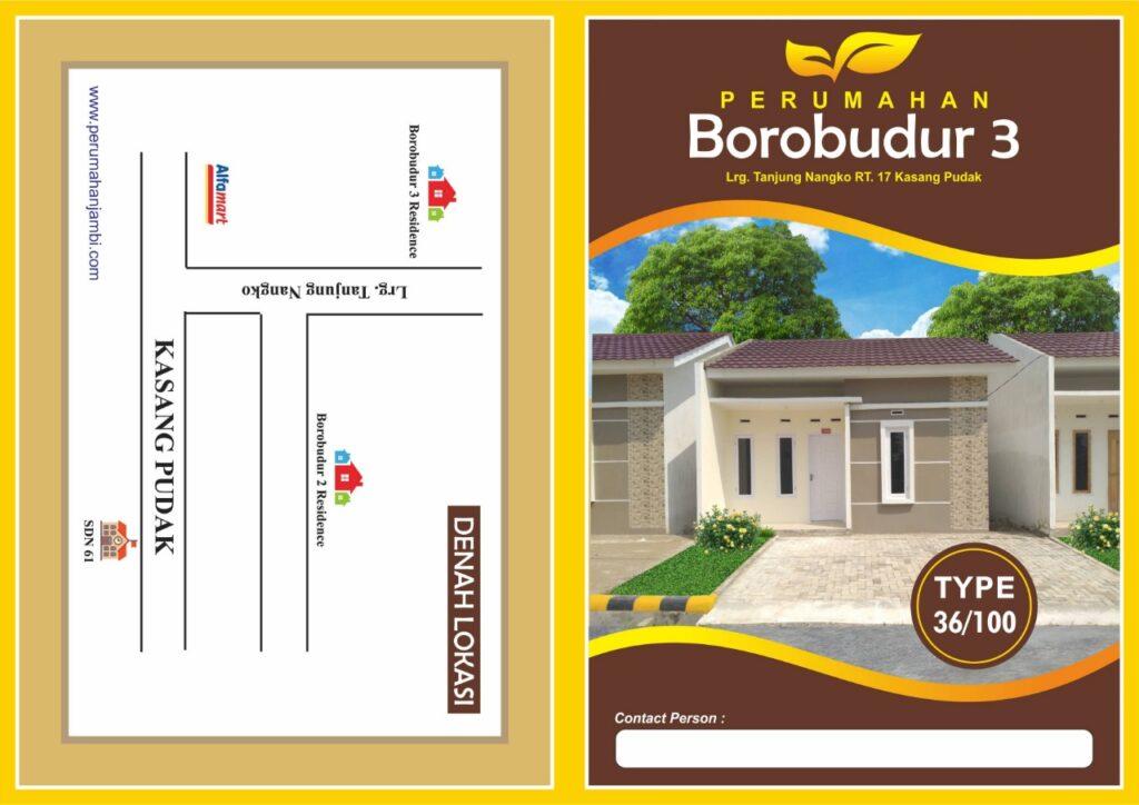 Brosur Borobudur 3 Residence Jambi
